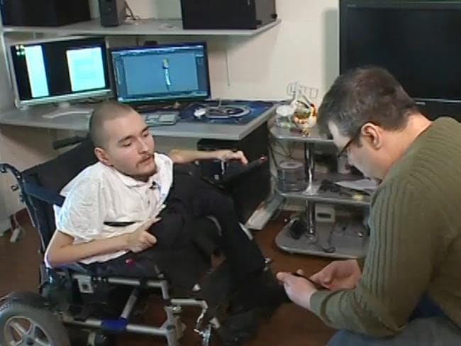 Valery Spiridonov, left, will be the first human to have a head transplant.