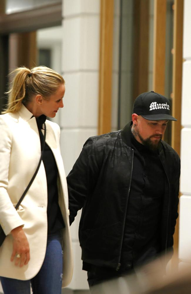 Cameron Diaz stands tall at 175cm while her husband, Benji Madden, is 167cm.