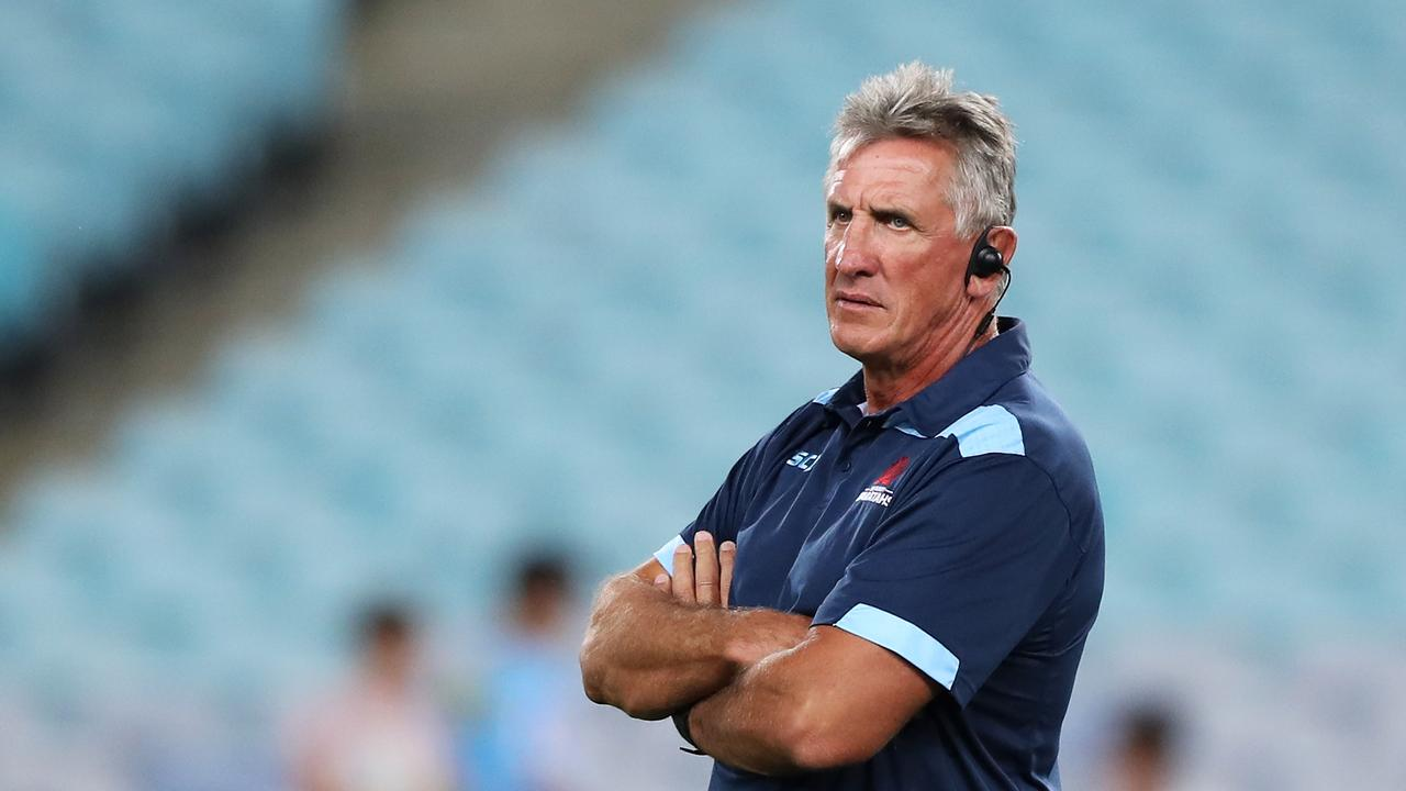 Waratahs coach Rob Penney watches on during ahead of his final match in charge of NSW. Photo: Getty Images