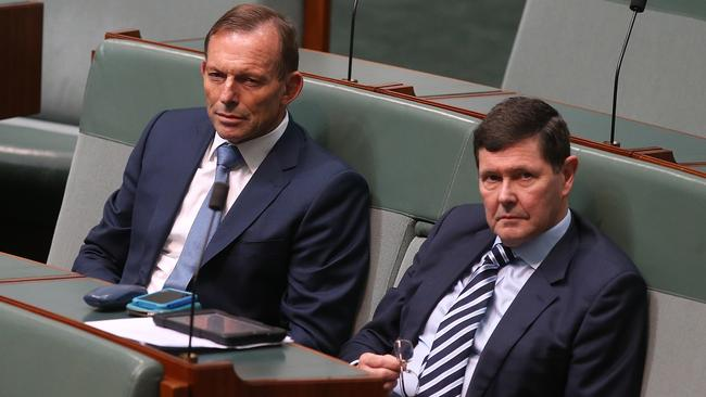 Tony Abbott And Kevin Andrews During The Debate On Marriage Amendment Definition Religious