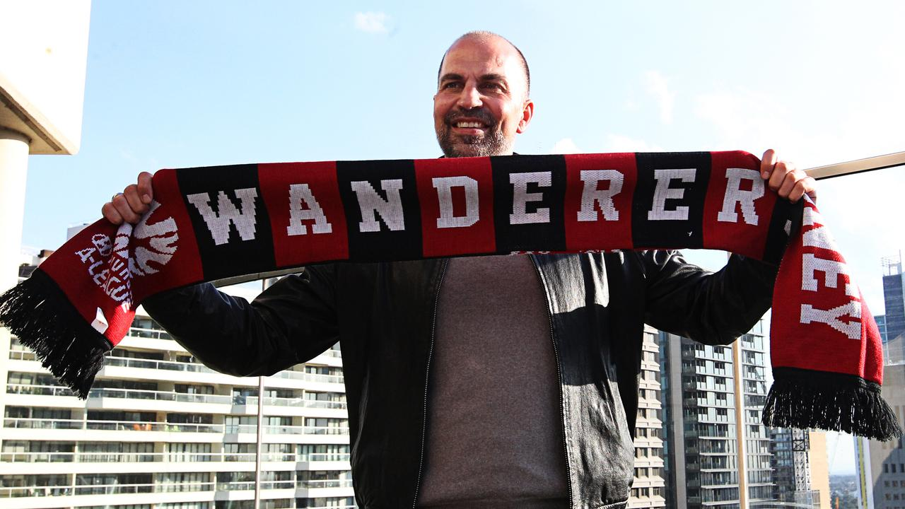 Markus Babbel after being named as new head coach of the Wanderers.