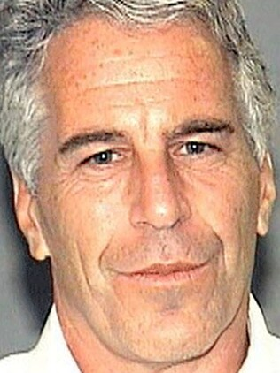 An autopsy on disgraced financier Jeffrey Epstein, who was found dead in his jail cell, concluded that he committed suicide by hanging. Picture: Palm Beach County Sheriff's Department / AFP