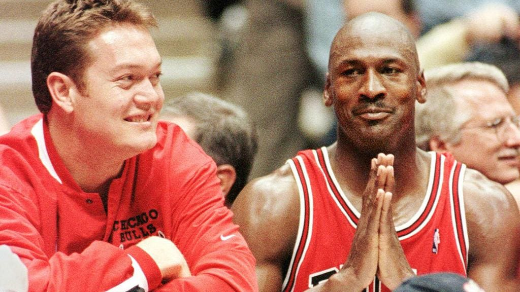 Aussie Luc Longley played a key role in the success of Jordan and the Bulls.