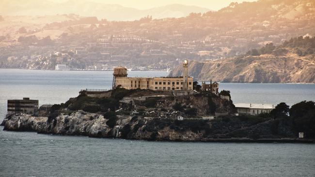 Alcatraz Island Prison is a very popular tourism attraction in San Francisco. Picture: News Corp Australia