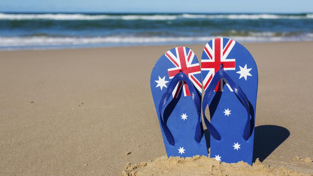 e27bee914f6b Wearing Australian flag thongs is akin to burning the flag