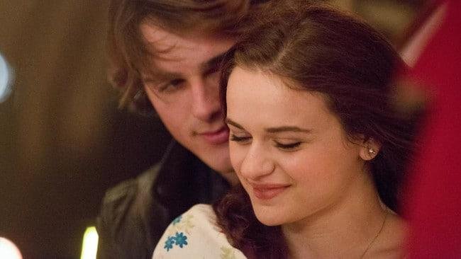 The romance spilt off-screen, too. Picture: Netflix