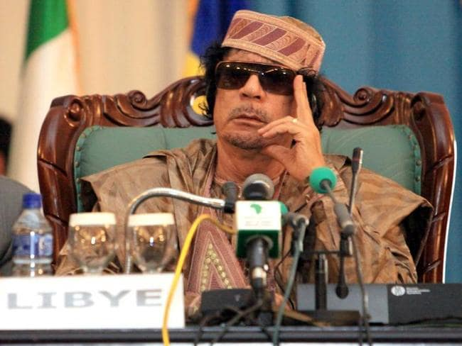Implicated ... it's alleged Sarkozy was helped to victory in the 2007 election with funds from former Libyan dictator Muammar Gaddafi.
