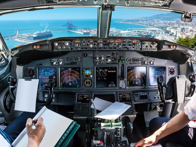The pilot is sceptical about the ban.