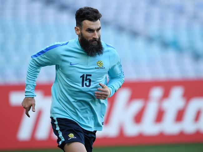 Australia team captain Mile Jedinak