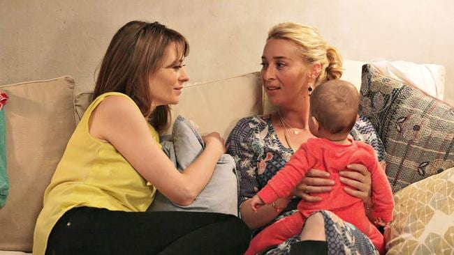 Kat Stewart in 'Offspring''s seventh season. Photo: Channel 10