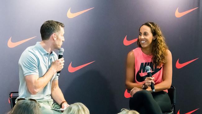 Madison Keys at the Nike launch of Vapor X