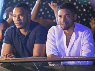 Trai Byers and Jussie Smollett in Empire. Picture: Supplied
