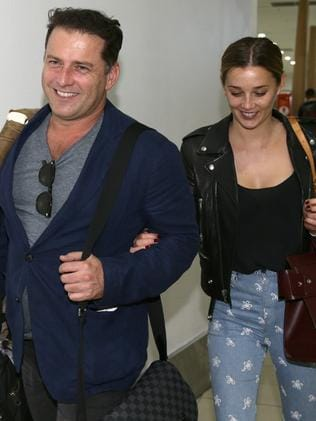The pair leave the Gold Coast after the Logies.