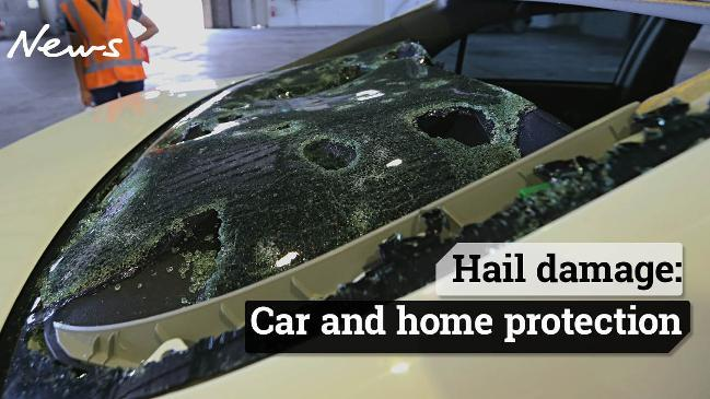 Hail damage: Car and home protection