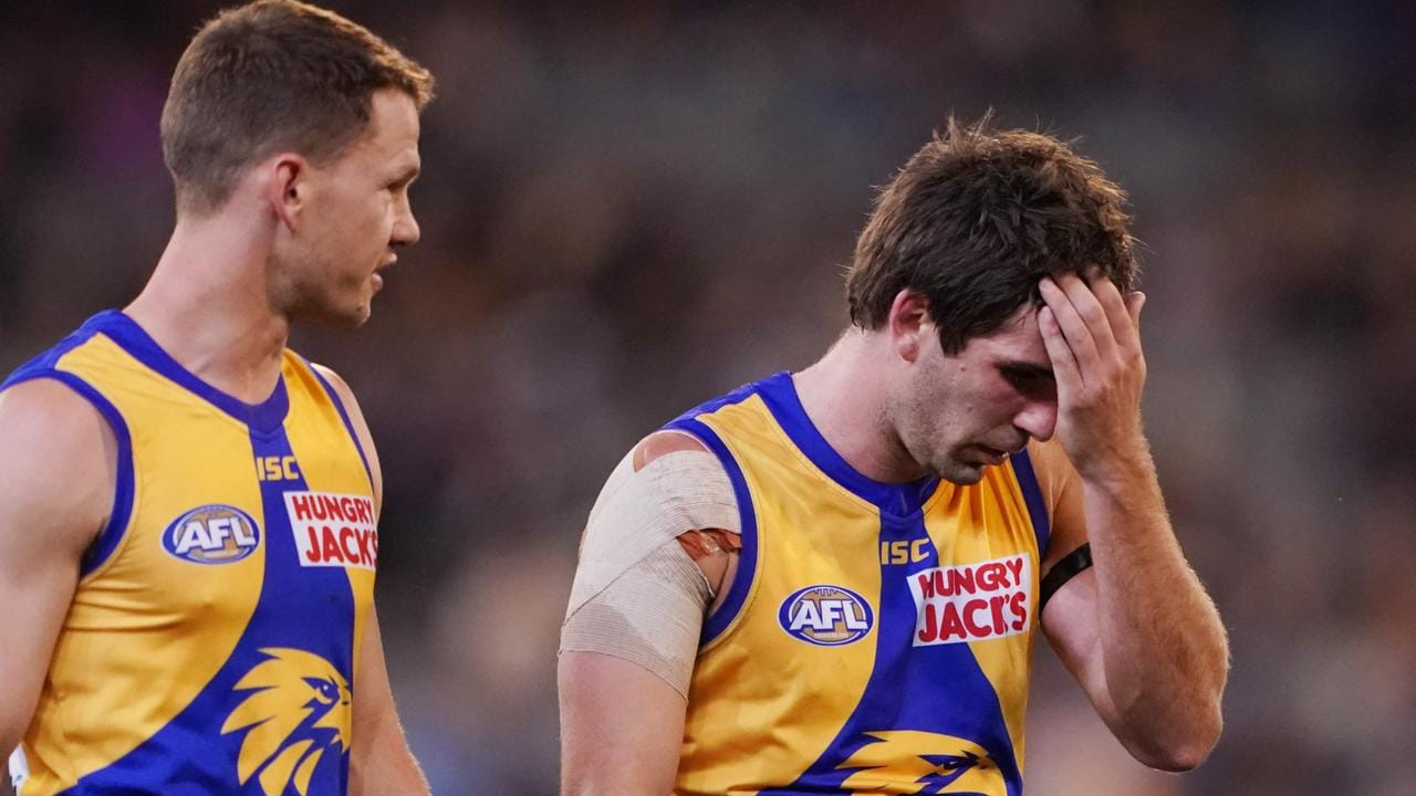 Andrew Gaff gave it his all. Photo: AAP Image/Michael Dodge