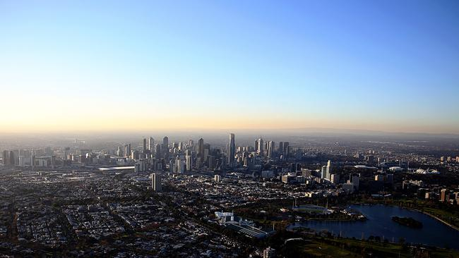 Melbourne has more than 80,000 'ghost houses', according to one study.