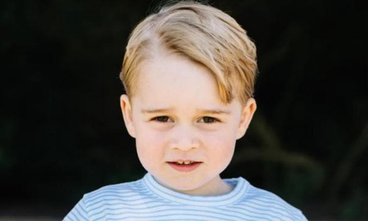 Prince William admits Prince George is 'far too spoiled'