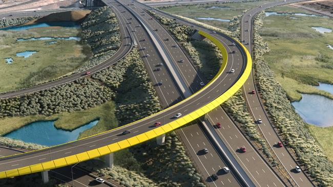 northern connector  lendlease engineering chosen to build and construct expressway  work to