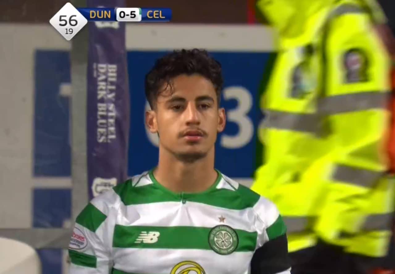 Daniel Arzani has finally made his debut for Celtic