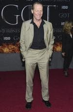 """Iain Glen attends HBO's """"Game of Thrones"""" final season premiere at Radio City Music Hall on Wednesday, April 3, 2019, in New York. (Photo by Evan Agostini/Invision/AP)"""
