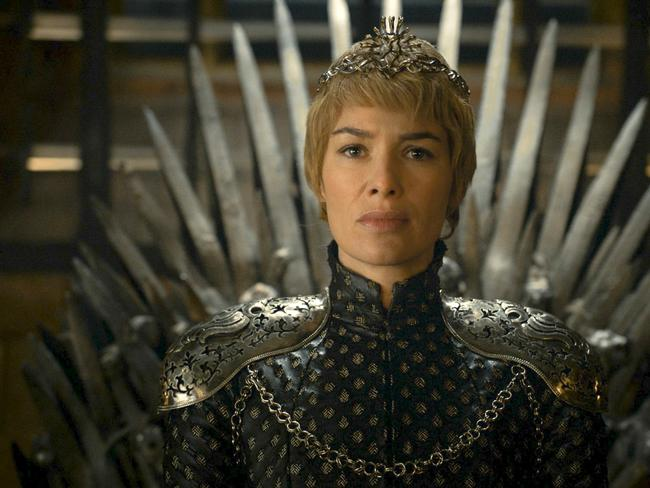 Lena Headey as Cersei Lannister in a scene from Game of Thrones.