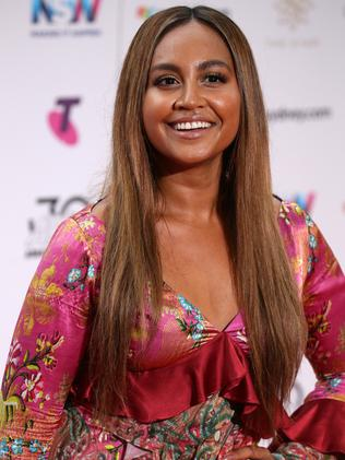 Jessica Mauboy should score a nomination for Fallin'. Picture: Jonathan Ng