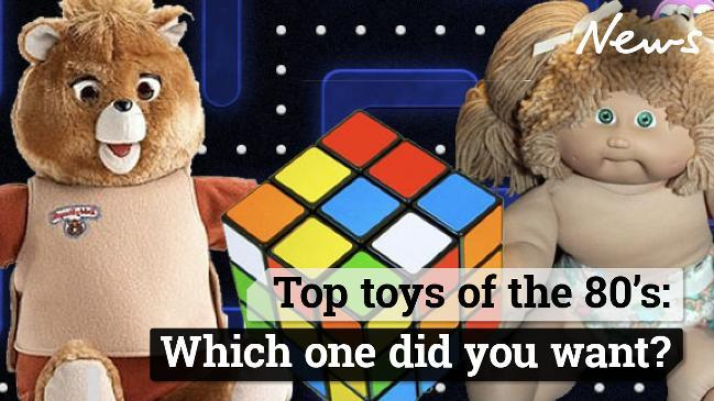 Top toys of the 80s