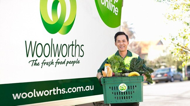 Woolworths is hiring 20,000 new staff members, including home delivery workers. Picture: Supplied