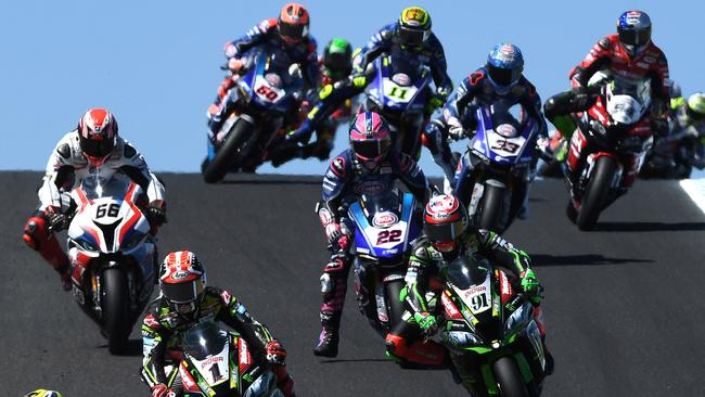 The Superbike World Championships are held in February and March at Phillip Island.