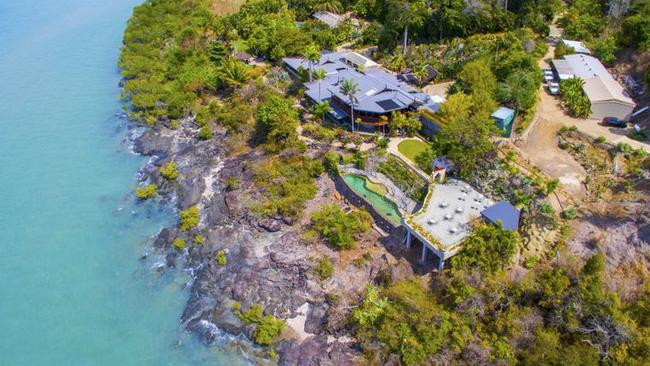 Villa Botanica sold for just over $7m in 2018 and can be hired as a luxury holiday home.