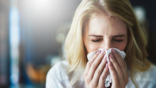 Experts say July through to September is peak time for the flu.