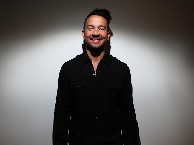 Celeb appeal: Hillsong's New York pastor Carl Lentz has helped reinforce the young image of Hillsong. Picture: Toby Zerna