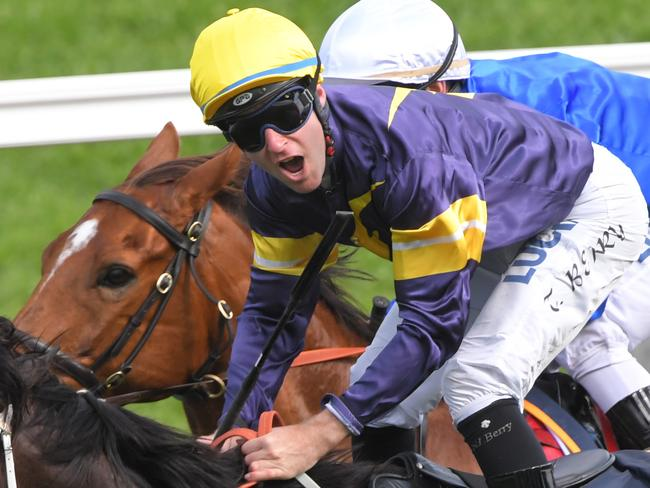 Tommy Berry is confident about his prospects on a Team Snowden youngster.