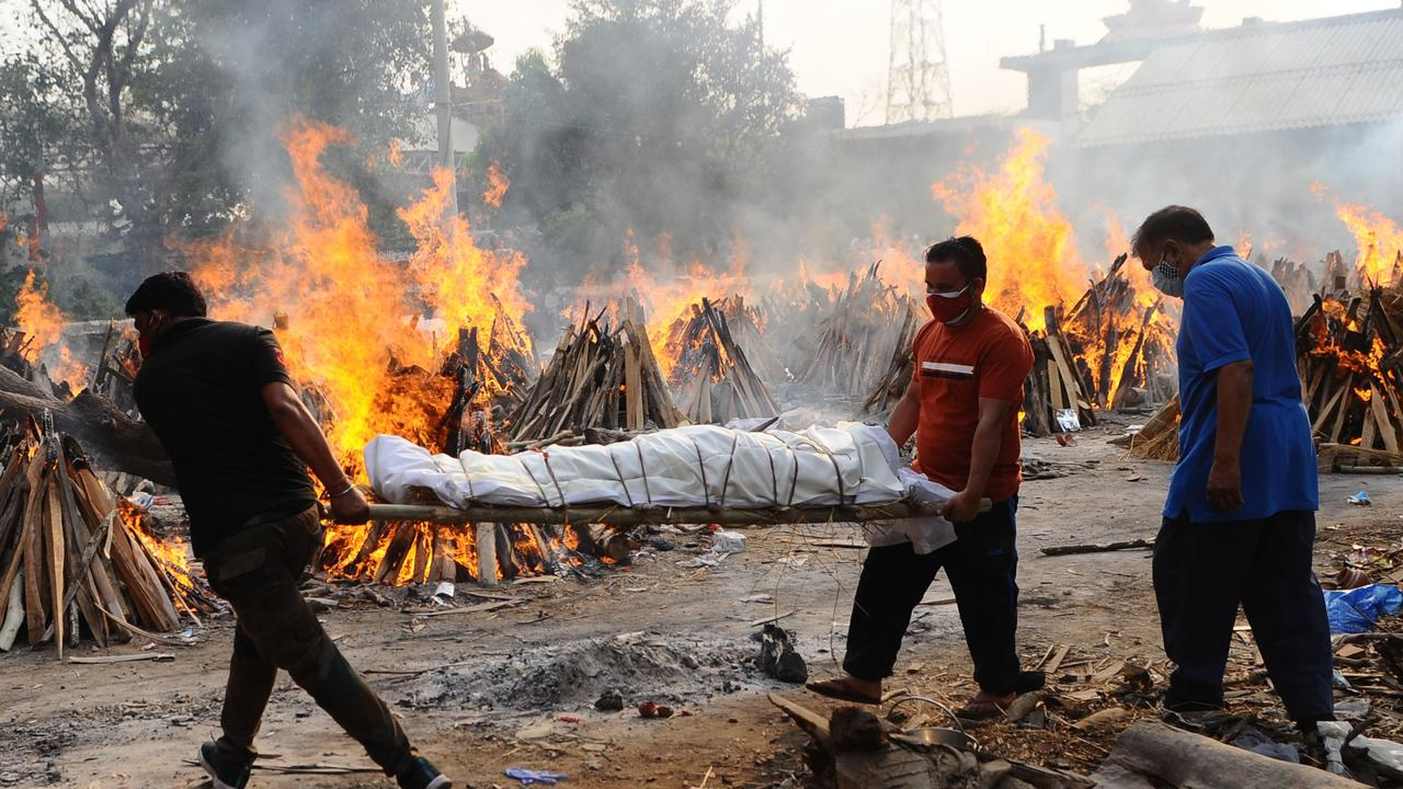 India reaches grim new daily covid death toll record