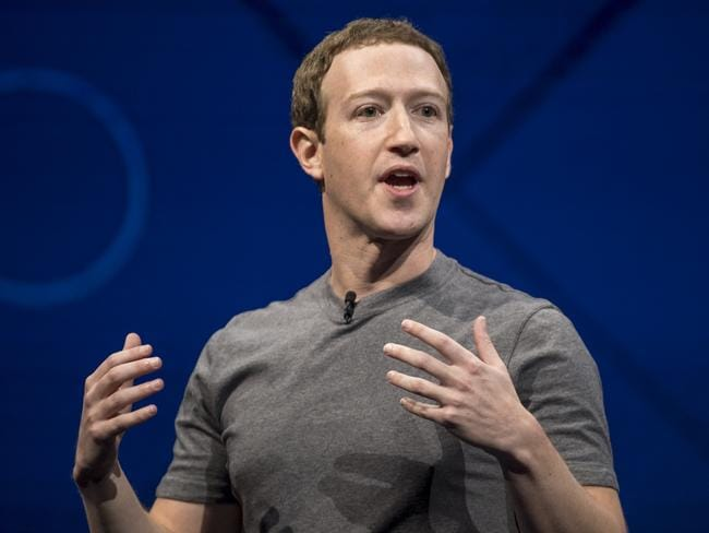 Mark Zuckerberg, has announced the changes, saying it will improve users' wellbeing. Picture: David Paul Morris/Bloomberg