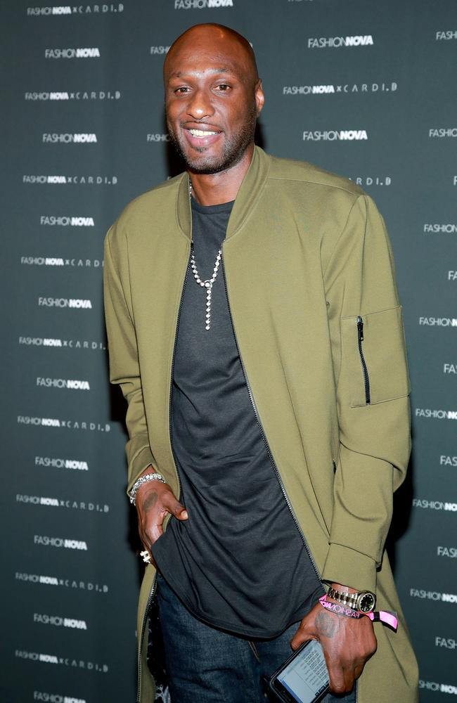 'Grabbed her forcefully'. Lamar Odom has opened up about a violent incident during his marriage to Khloe Kardashian. Picture: Getty Images