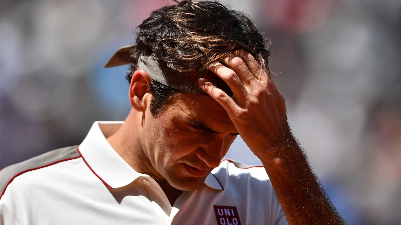 Roger Federer's records continue to be plundered by Novak Djokovic and Rafael Nadal.