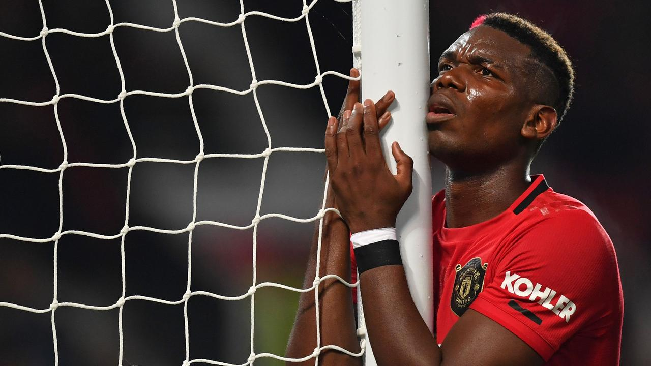 Paul Pogba shared his frustration at missing Manchester United's defeat to Bournemouth