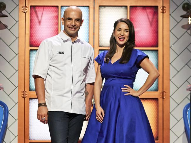 Coming soon after the Games: Rachael Khoo and Adriano Zumbo for Zumbo's Just Desserts.