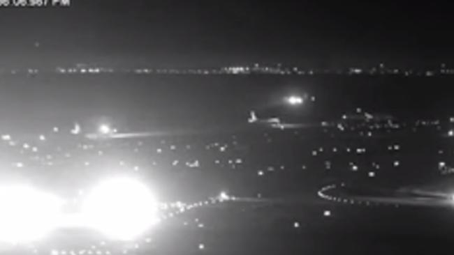Surveillance Footage Shows Air Canada's Close Call at San Francisco Airport