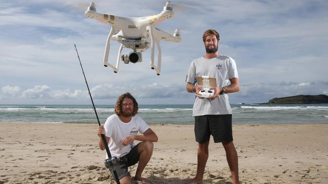 Fingal fishermen caught 20kg tuna using drone to spot the for Fishing line camera