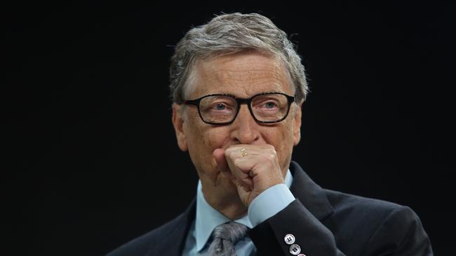 Bill Gates says the decision cost hundreds of billions. Picture: Yana Paskova/Getty Images/AFP