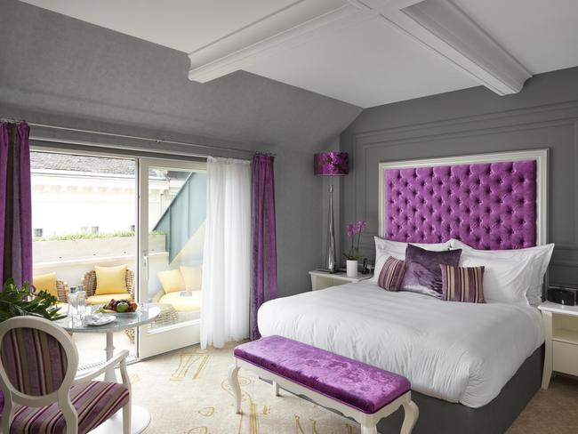 Aria Hotel Budapest has been named the world's best hotel.