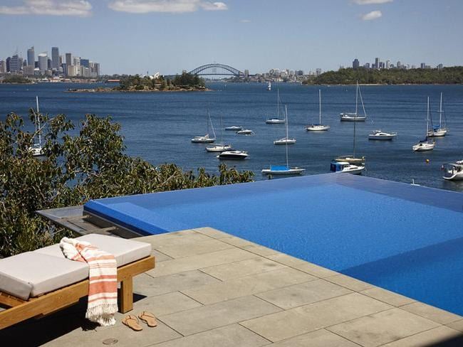 Pool with a view: this private swimming spot has a postcard panorama. Picture: realestate.com.au