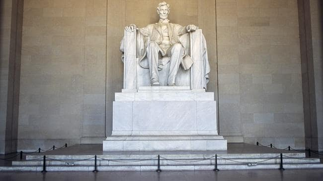 About six million people visit the Lincoln Memorial each year. Picture: DeAgostini/Getty Images
