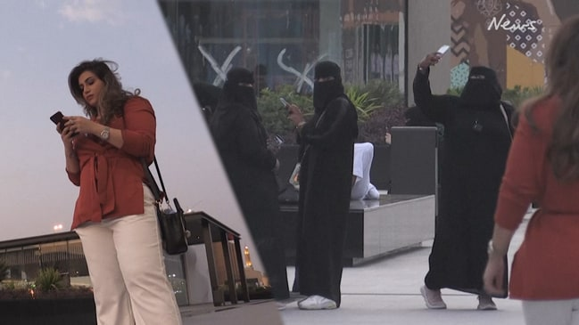 Defiant Saudi women stun onlookers by wearing Western clothes in public