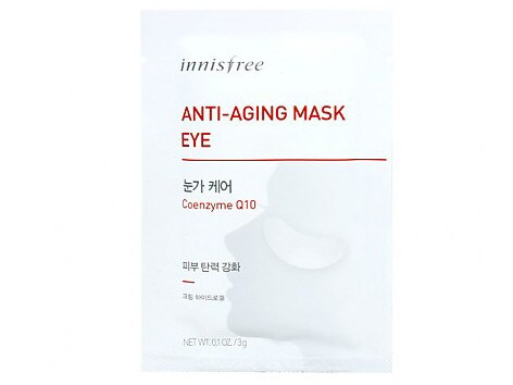 Innisfree Anti-ageing Undereye Mask costs $5.73.