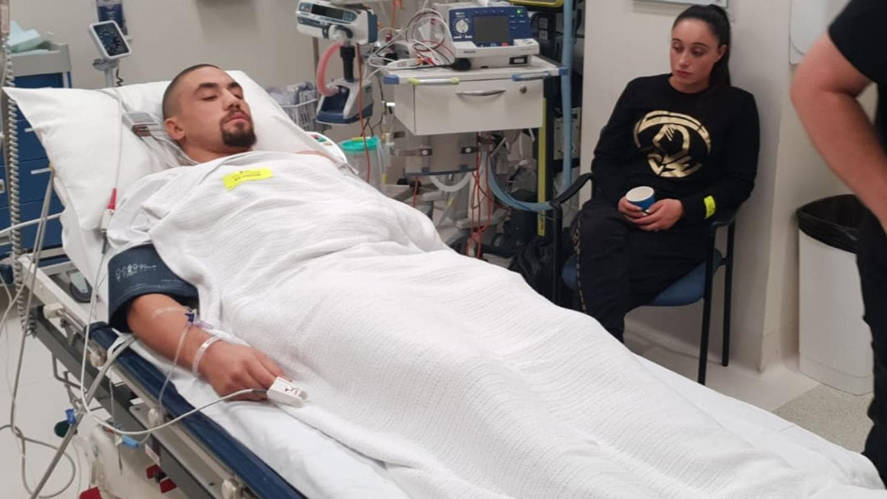 Rob Whittaker in hospital after a potentially fatal injury was discovered before his main event at UFC 234.