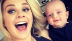 Emma Freedman with son, William. Image: Instagram