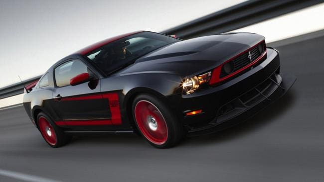 2012 Ford Mustang Boss 302 Laguna Seca: Picture: Supplied